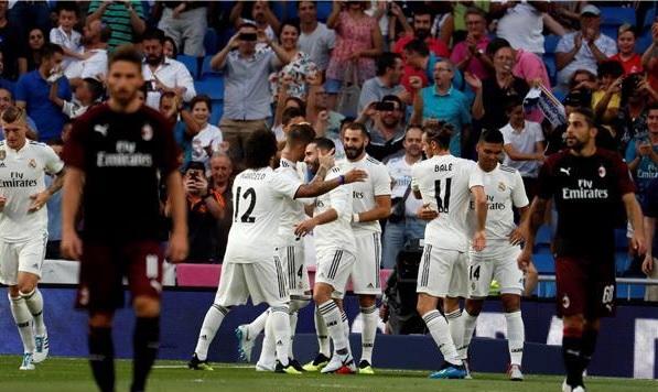 ريال مدريد وميلان .. تكتيك زيدان وتحية مودريتش الأبرز