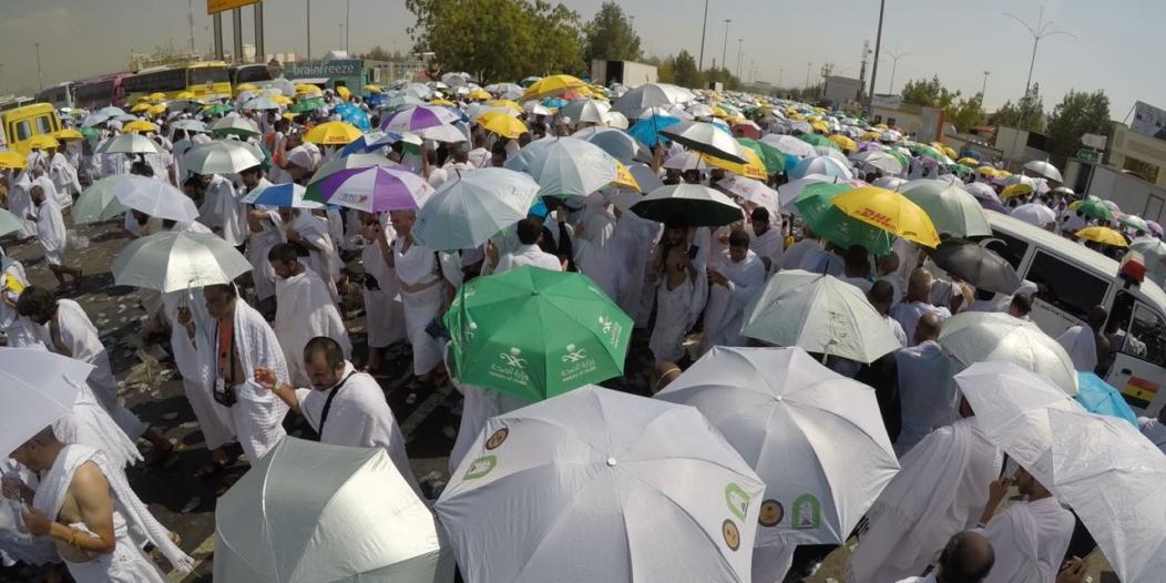 إنفوجرافيك.. 7 نصائح من الأمن العام لضيوف الرحمن أثناء رمي الجمرات