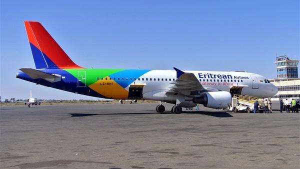 لأول مرة منذ 20 عامًا.. طائرة الخطوط الجوية الإريترية تحط بمطار أديس أبابا