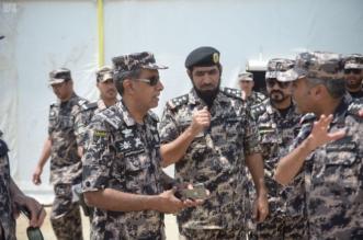 قائد قوات أمن المنشآت يتفقد محطات قطار المشاعر المقدسة - المواطن
