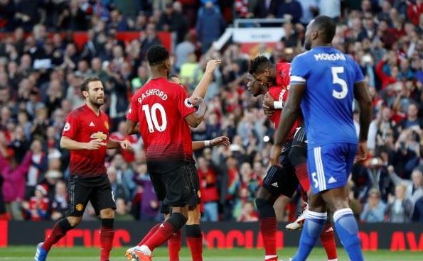 مانشستر يونايتد يفتتح أهداف الدوري الإنجليزي هذا الموسم