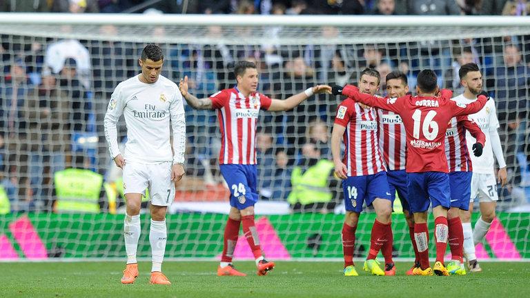 الريال ضد أتلتيكو مدريد