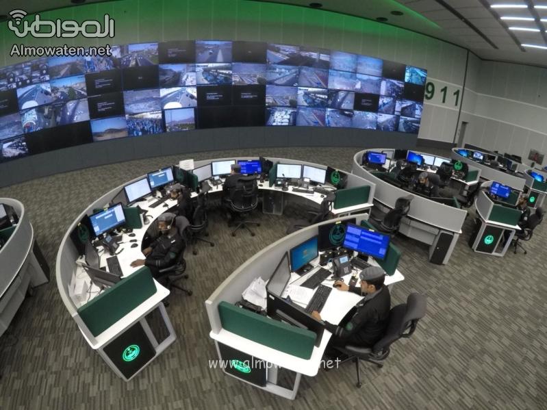 مركز العمليات الأمنية 911 2