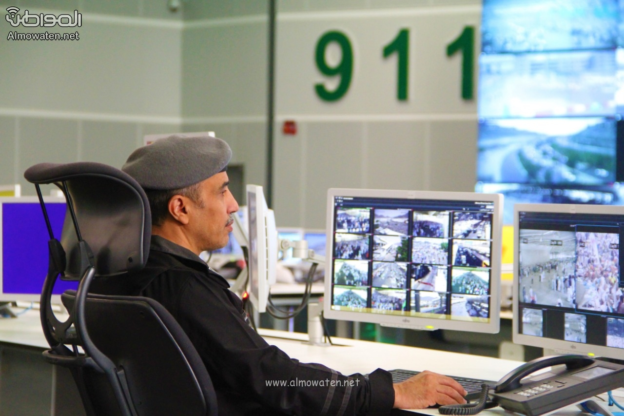 مركز العمليات الأمنية 911 6