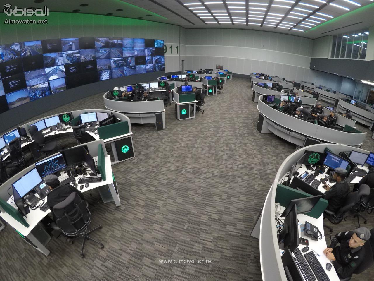 مركز العمليات الأمنية 911 7