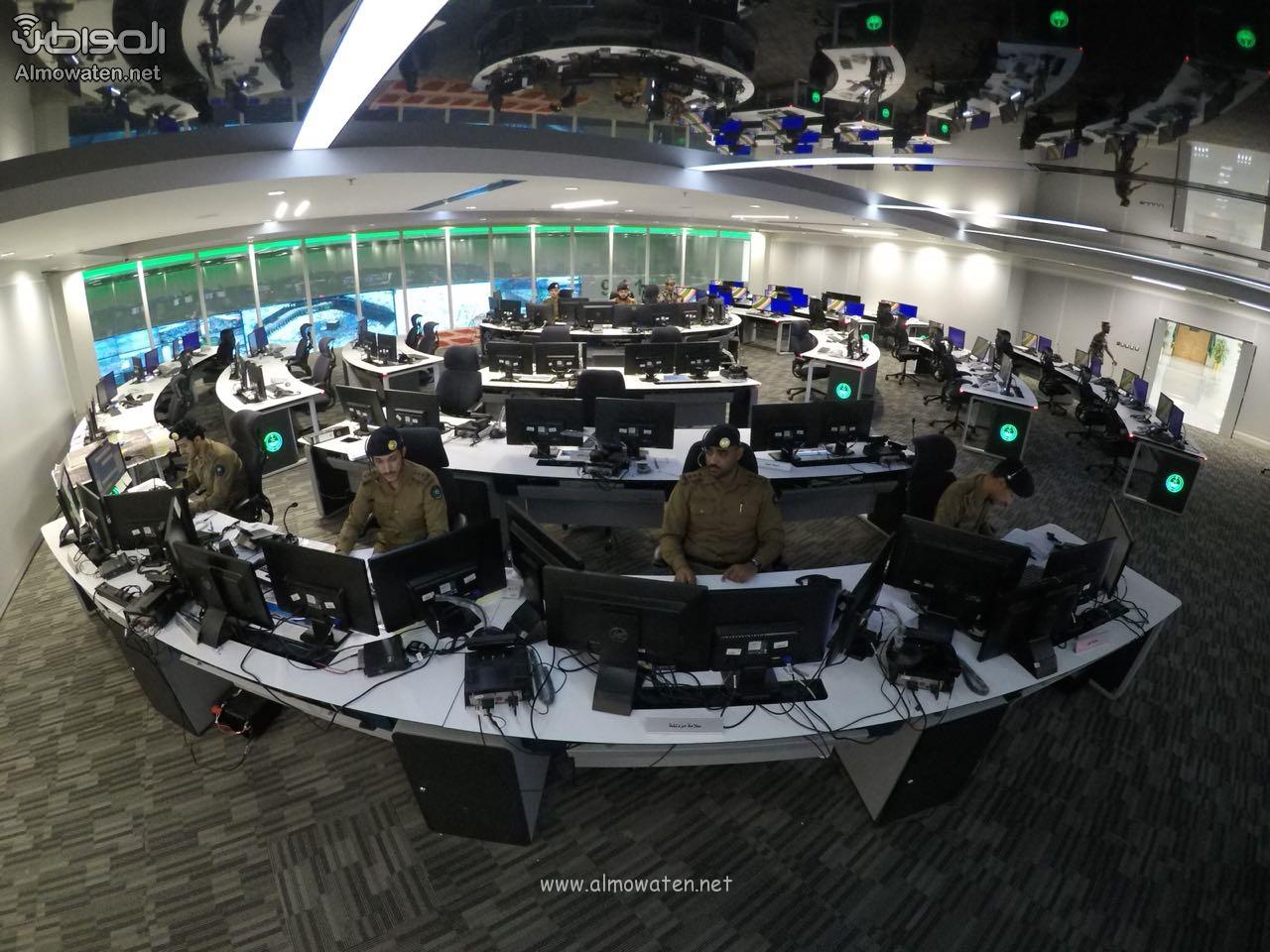 مركز العمليات الأمنية 911 8