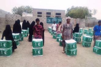 بالصور.. مركز الملك سلمان للإغاثة يواصل تسليم السلال الغذائية لنازحي الحديدة في الخوخة - المواطن