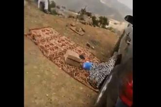 العثور على جثة مفقود السودة فواز الحربي على بعد ٣٠٠ متر من المنحدر - المواطن