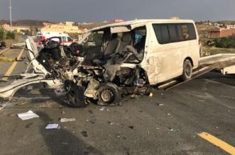 وفاة و14 مصابًا حصيلة حادثين في عسير بأقل من 24 ساعة - المواطن