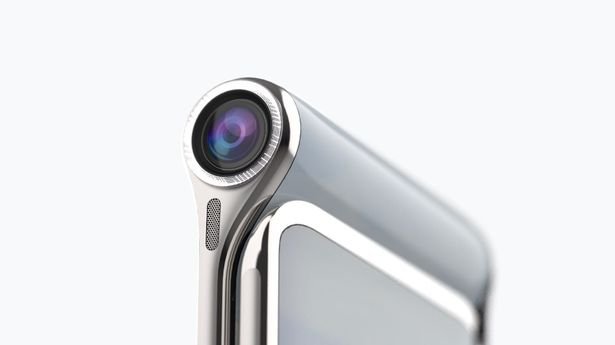 هاتف ذكي جديد مستوحى من تلسكوب هابل وبـ4 شاشات!