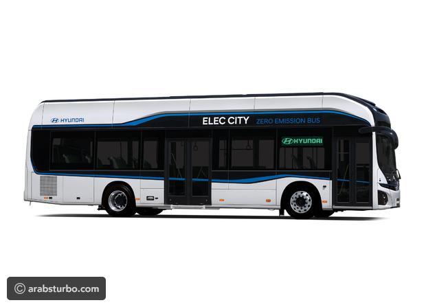 بالصور.. هيونداي تكشف عن حافلاتها الكهربائية العاملة بالهيدروجين - المواطن