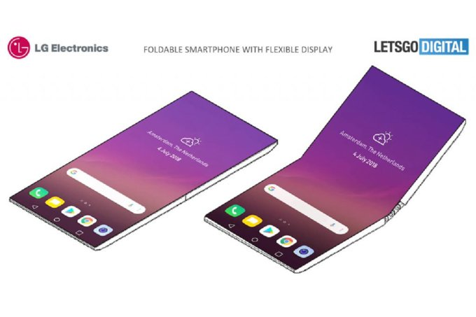 إل جي تطور شاشات قابلة للطي لصالح الشركات المنافسة لسامسونج