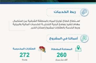 إيصال الخدمات المائية والبيئية لـ 272 وحدة بمشروع إسكان الخبر - المواطن