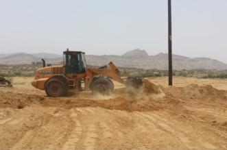 بالصور.. استعادة 12 ألف م2 من أملاك الدولة في بارق - المواطن