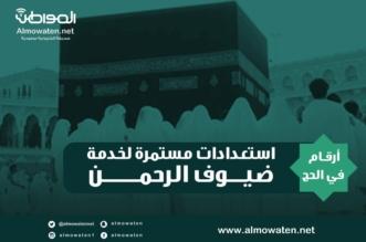 """انفوجرافيك """"المواطن"""".. أرقام في الحج.. استعدادات مستمرة لخدمة ضيوف الرحمن - المواطن"""