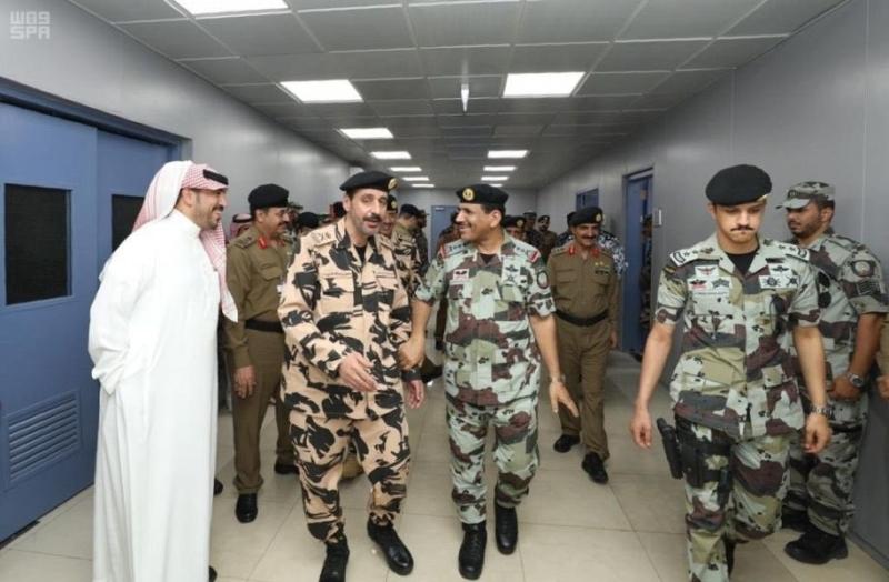 بالصور.. قائد قوات أمن الحج يتفقد استعدادات قوة أمن الحج للمجاهدين - المواطن