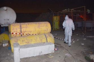11 حالة اختناق بسبب تسرب غاز الكلور في ورشة بجدة - المواطن
