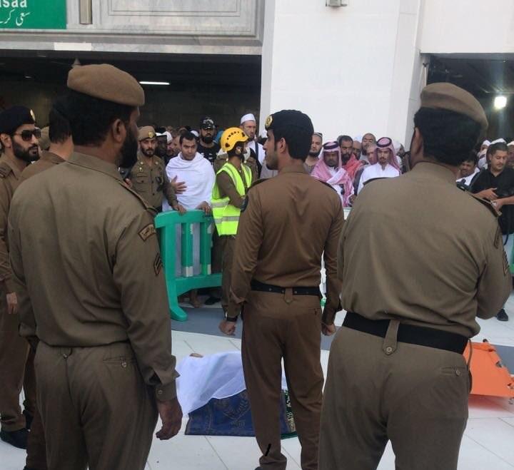 وافد ينتحر قفزًا من سطح المسجد الحرام ويصيب اثنين آخرين