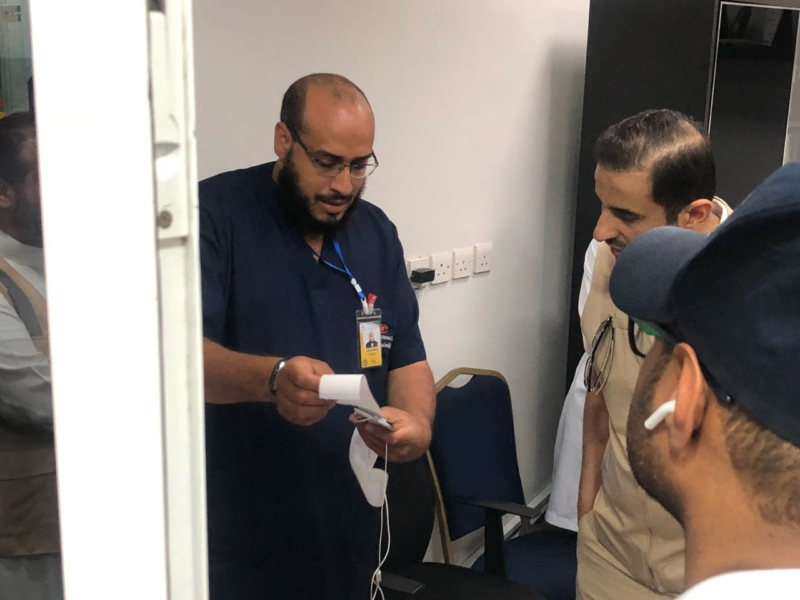 بالصور.. الصحة تتحقق من جودة الوجبات بمستشفيات مكة والمشاعر - المواطن