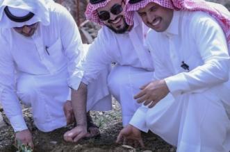 بالصور.. مشاركات الدوائر الحكومية برجال ألمع تُنجح مبادرات زراعة شجرة السدر - المواطن
