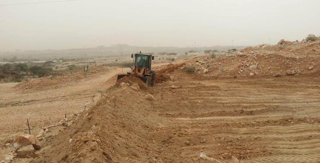 بالصور .. استعادة 17 ألف متر مربع من الأراضي الحكومية في بارق