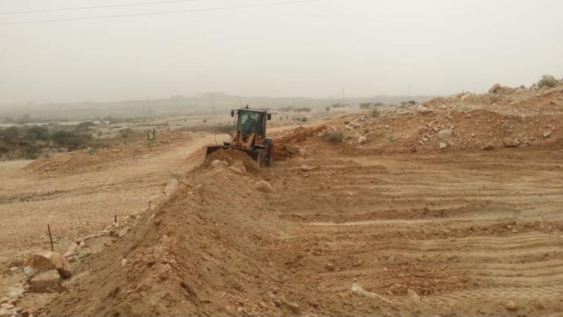 بالصور .. استعادة 17 ألف متر مربع من الأراضي الحكومية في بارق - المواطن