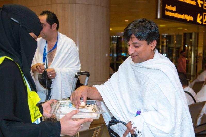 تحالف ثلاثي لتوعية 10 آلاف حاج في مطار الملك فهد الدولي