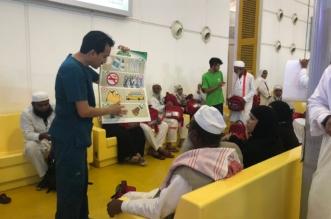 بالصور.. أكثر من 600 ألف حاج استفادوا من برنامج سفراء التوعية الصحية - المواطن