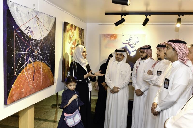 فن بريشة شرقية.. انطلاق المعرض الأول من نوعه في مطارات المملكة
