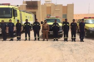 بالصور.. فرقة المدني الموسمية ببهجة نجران تباشر علمها لخدمة الحجاج - المواطن