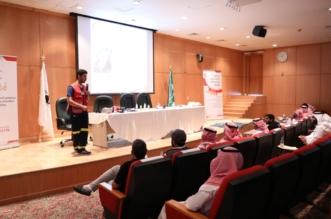بالصور.. الهلال الأحمر السعودي يدرب مطوفي الحجاج على الإسعافات الأولية - المواطن