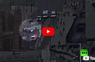 شاهد.. لحظة تنفيذ حادث الدهس الإرهابي في لندن - المواطن