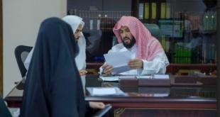 بالصور.. الصمعاني يُطلق ناجز ويتفقّد خدمة المستفيدين في محاكم الأحساء