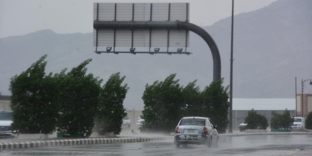 الأرصاد: هطول أمطار رعدية ورياح نشطة على 11 منطقة