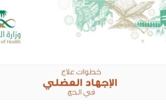 بالإنفوجرافيك.. إرشادات للحجاج لكیفیة التعامل مع الإجھاد العضلي - المواطن