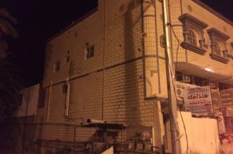 بالصور.. مدني نجران يباشر سقوط شظايا الصاروخ الحوثي - المواطن
