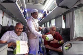 بالصور.. 2,5 مليون وجبة وعبوة ماء لضيوف الرحمن بالمدينة المنورة - المواطن