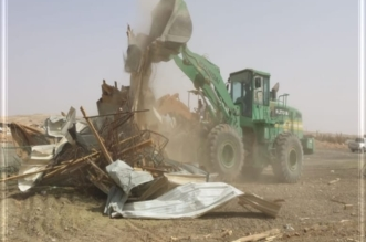 بالصور.. أمانة الرياض تزيل أكثر من 1500 عنصر تلوث بصري شرقي العاصمة - المواطن