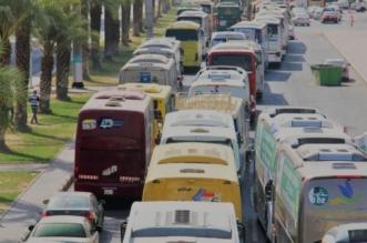 المرور يبدأ خطة تصعيد الحجاج إلى مشعر منى يوم التروية تمهيدًا للوقوف بعرفة - المواطن