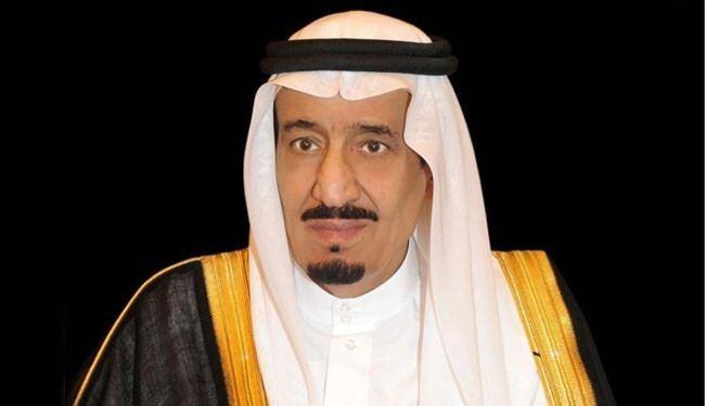الملك سلمان يتلقى برقية عزاء من الرئيس المصري