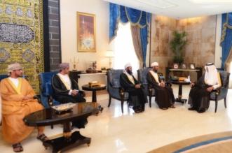 الفيصل خلال استقبال رئيس بعثة الحج العمانية: المملكة تسخر كافة الإمكانات لخدمة ضيوف الرحمن - المواطن