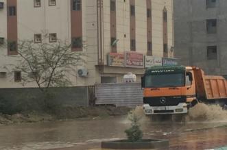 أمطار الخير تسيل أودية أحد رفيدة - المواطن