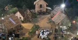 شاهد.. ممثلون استعدوا لتصوير مشهد الحريق فاشتعلت فيهم النار - المواطن