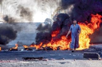 نيران الغضب تُشعل القنصلية الإيرانية في البصرة - المواطن