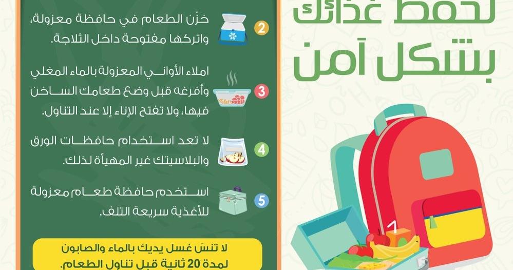 نصائح مهمة من الغذاء والدواء مع بدء العودة إلى المدارس غدًا