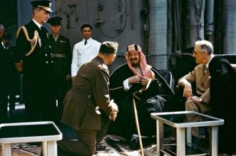 مشاهد من التاريخ للملك المؤسس.. انحناء وزير أميركي وحسم مع تشرشل - المواطن