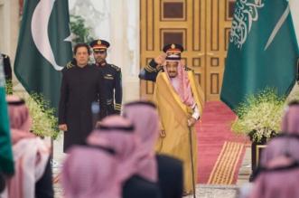 الملك يستقبل رئيس وزراء باكستان ويقيم مأدبة غداء تكريماً له - المواطن