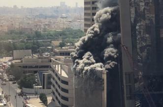 إخلاء أكثر من 2500 عامل بعد حريق في مبنى تحت الإنشاء لبنك الكويت - المواطن