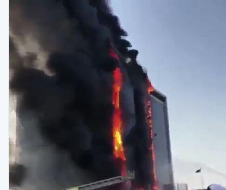 الدفاع المدني يخمد حريق النيابة العامة في الدمام بلا خسائر