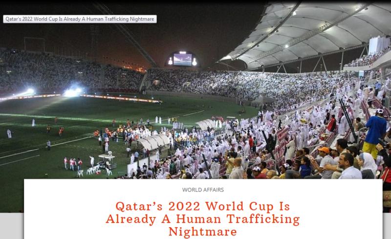 دماء مونديال قطر.. حالة وفاة يوميًّا بين العمالة الأجنبية - المواطن